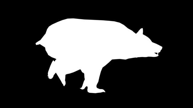 Running Bear (Loopable) video