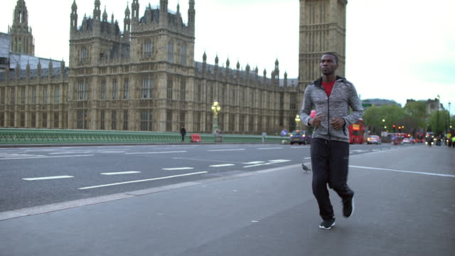 Running in London video