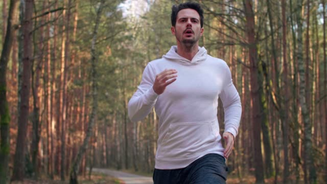 Running is way for healthy lifestyle Running is way for healthy lifestyle front view stock videos & royalty-free footage