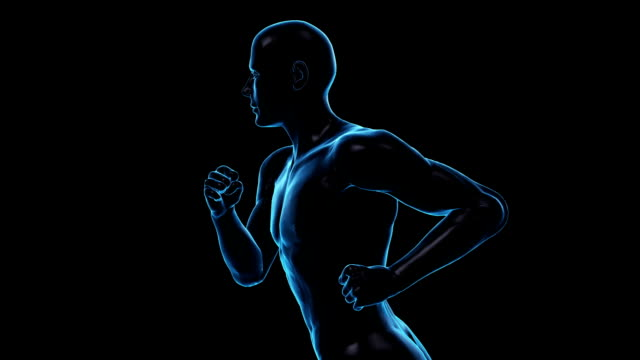 Running Man | Loopable video