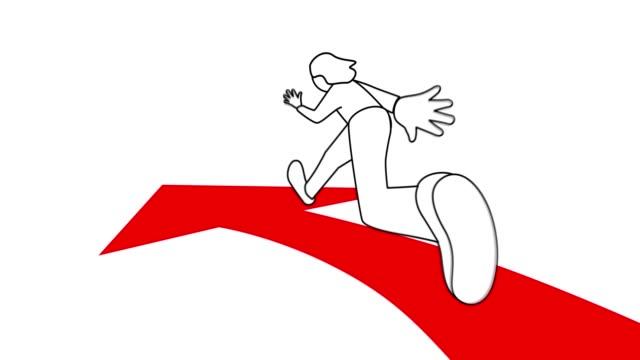 running on arrow