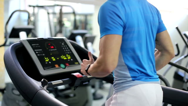Running On Treadmill video