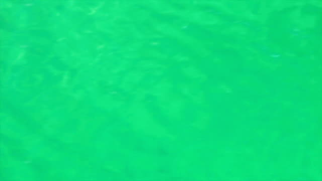 Running ripple on the beautiful green water. Moving background with meditative and hypnotic effect. video