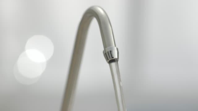 Running tap in Kitchen. video