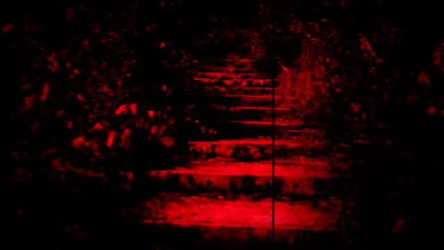 ランニングの階段を恐れブラッディーマリー hd - ステップ点の映像素材/bロール