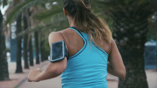 Running with smart phone video