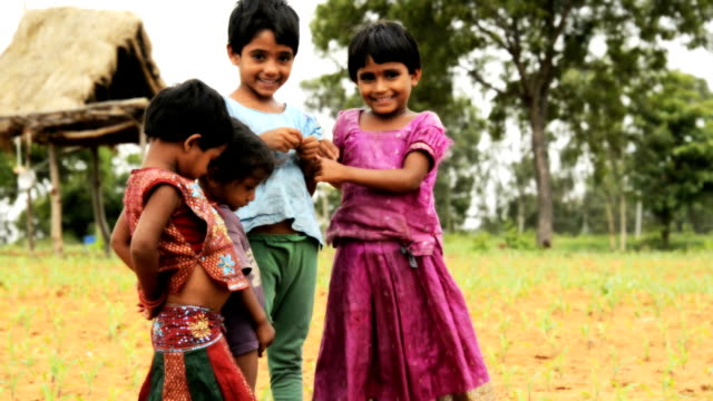 Rural Children Indian Rural children indian family stock videos & royalty-free footage