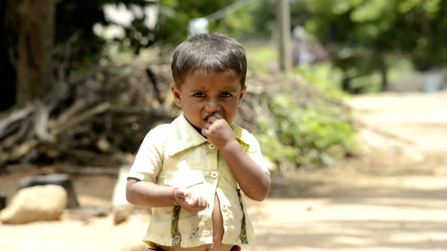 Rural kid Indian Rural kid poverty stock videos & royalty-free footage