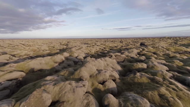 Rural lava landscape video