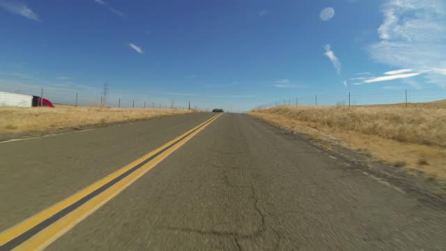 Rural carretera Hyperlapse - vídeo