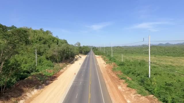 Rural Thailand Road
