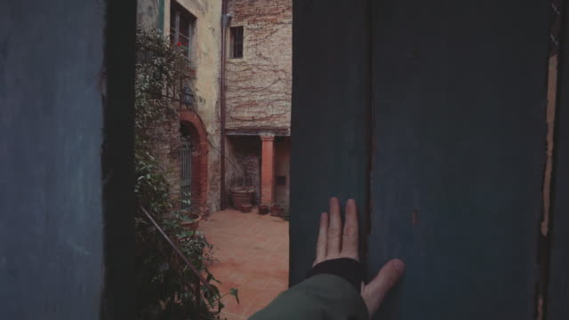 Rural village in Tuscany video