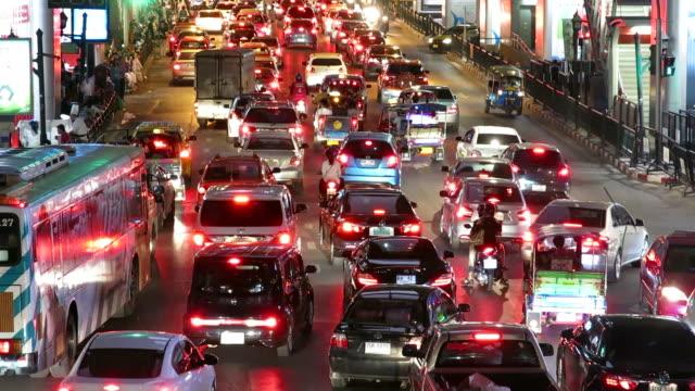 Rush hour in Bangkok video