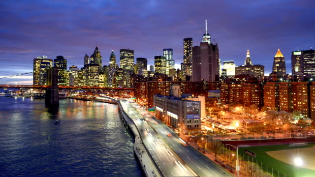 Rush Hour on FDR Drive in New York video