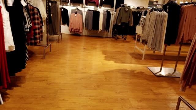 Rushing Through Clothing Store – Video