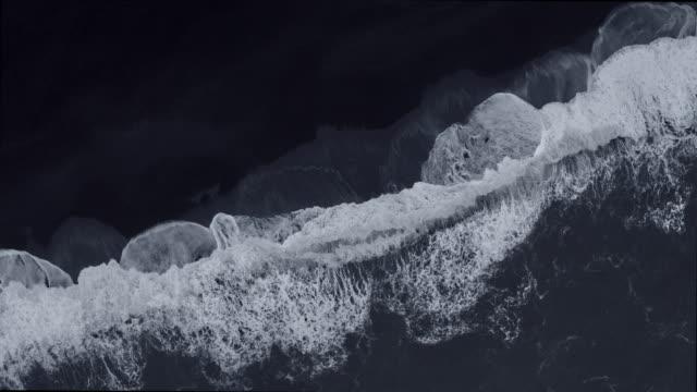 Rushing waves of Reynisfjara, Iceland