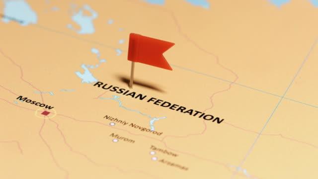 vídeos y material grabado en eventos de stock de federación de rusia con pin - rusia