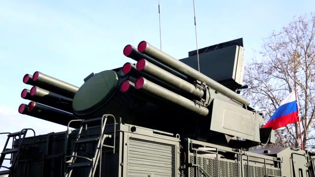 vídeos de stock, filmes e b-roll de sistema de defesa russo ar - rússia