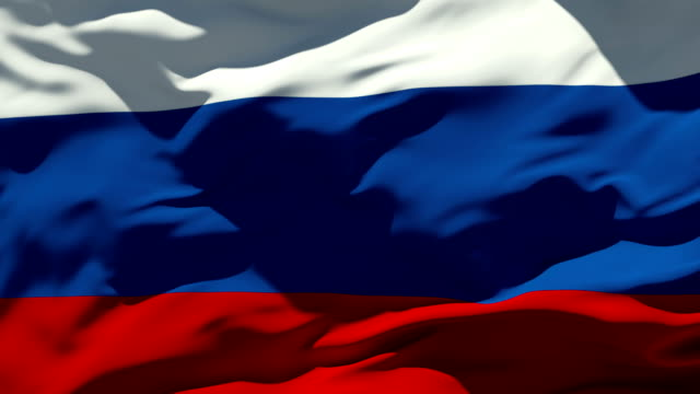 Russian Flag Seamless Loop russian culture stock videos & royalty-free footage