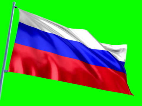 Russische Flagge  – Video