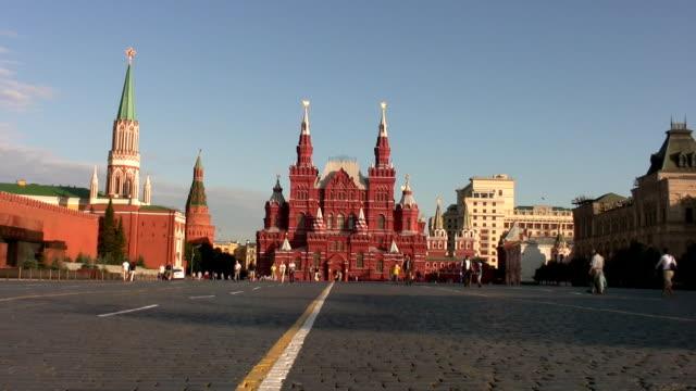 russian girl in moscow´s red square - röda torget bildbanksvideor och videomaterial från bakom kulisserna
