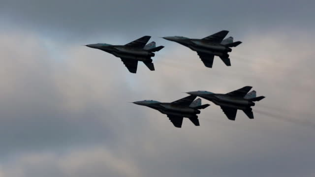 Russian military aircrafts video