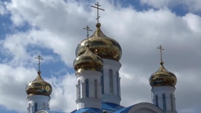 russian orthodox church - jesus christ filmów i materiałów b-roll
