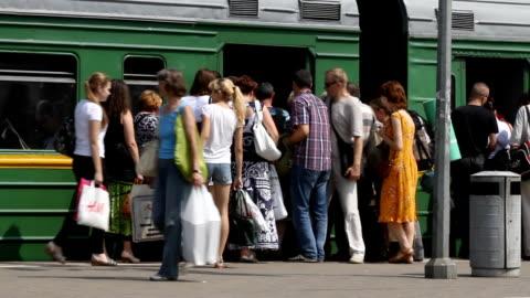Russian Railways Train video