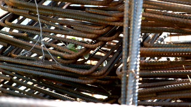 Rust steel wire