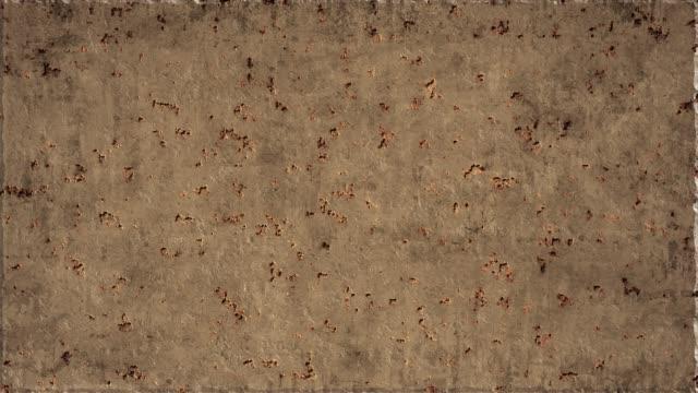 rusting 金属背景 - 錆びている点の映像素材/bロール