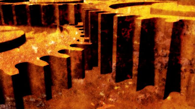 Rusty metal gear video