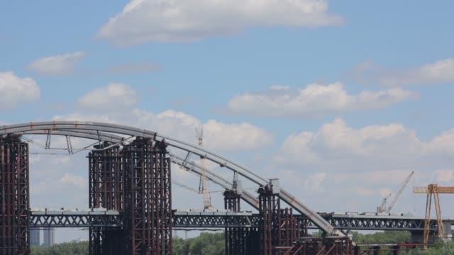 Rusty Unfinished Bridge video