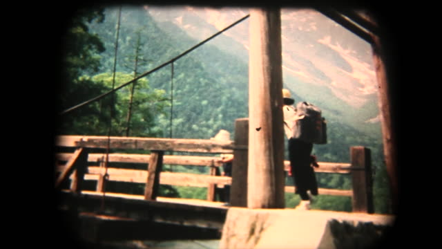 60's 8mm footage - Family trip in Kmikouchi