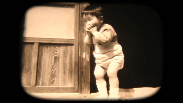 60's 8mm footage - funny dancing