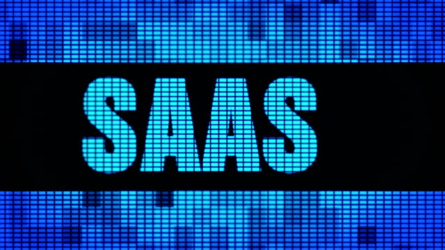 Saas Front Text Scrolling LED Wall Pannel Display Sign Board