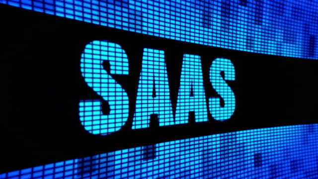 Saas Side Text Scrolling LED Wall Pannel Display Sign Board