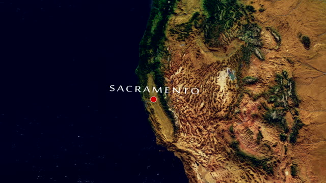 Sacramento 4K Zoom In video