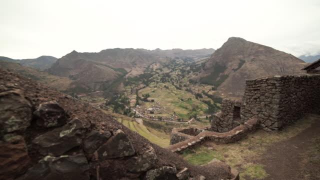 sacred valley - peru - tal stock-videos und b-roll-filmmaterial