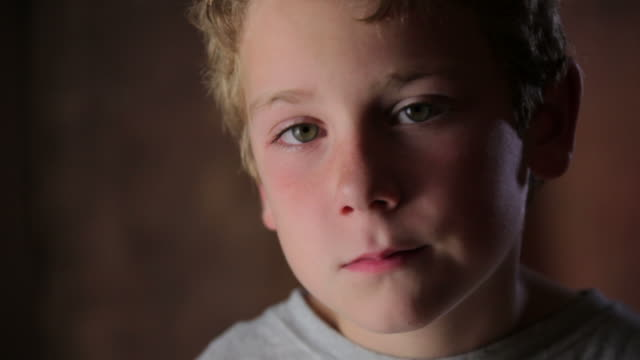 Sad little Boy  elementary age stock videos & royalty-free footage