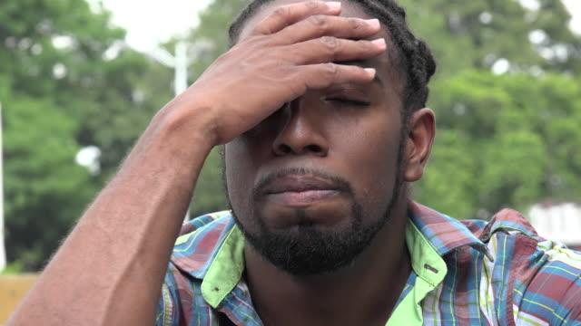 Sad Man, Depressed Adult, Feelings video