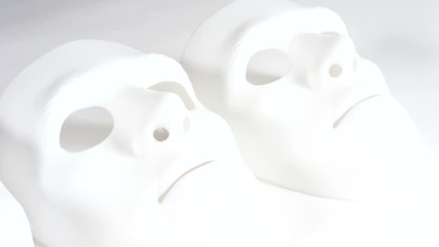 Sad robot faces video