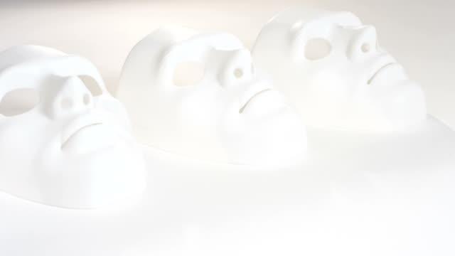 Sad white masks video