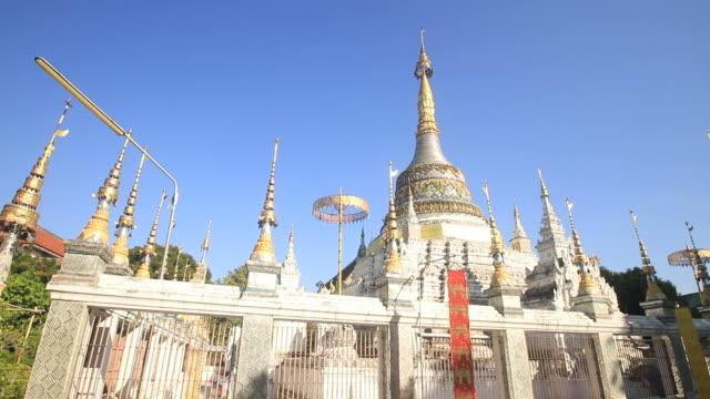 泰國清邁的香坊寺 - 東南 個影片檔及 b 捲影像