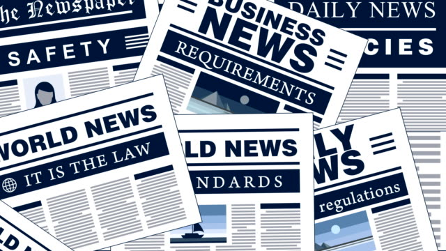 Safety Breaking News Newspaper Headlines