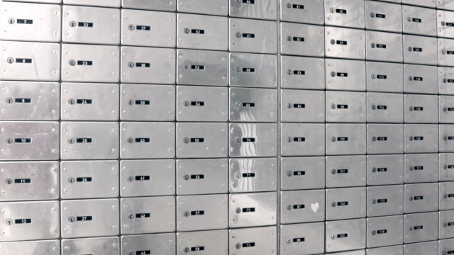 Safety deposit boxes video