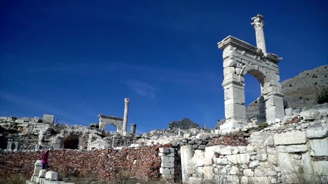 Sagalassos ancient city video