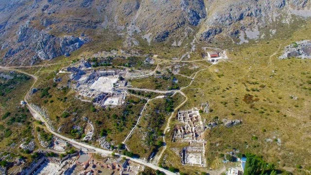 Sagalassos Ancient Ruin video