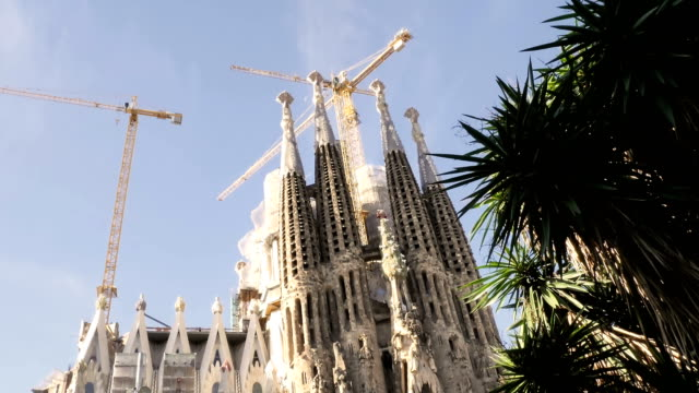 Sagrada de Familia by Antomio Gaudi. Spain