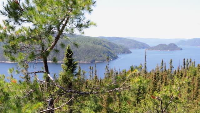 Saguenay Landscape Fjord National Park, Quebec, Canada