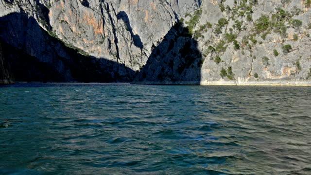 Sahinkaya Canyon near to Vezirkopru district, Samsun city, Turkey video